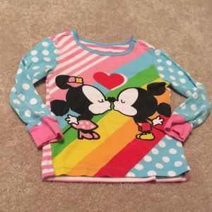 Disney Pajama Top 3T
